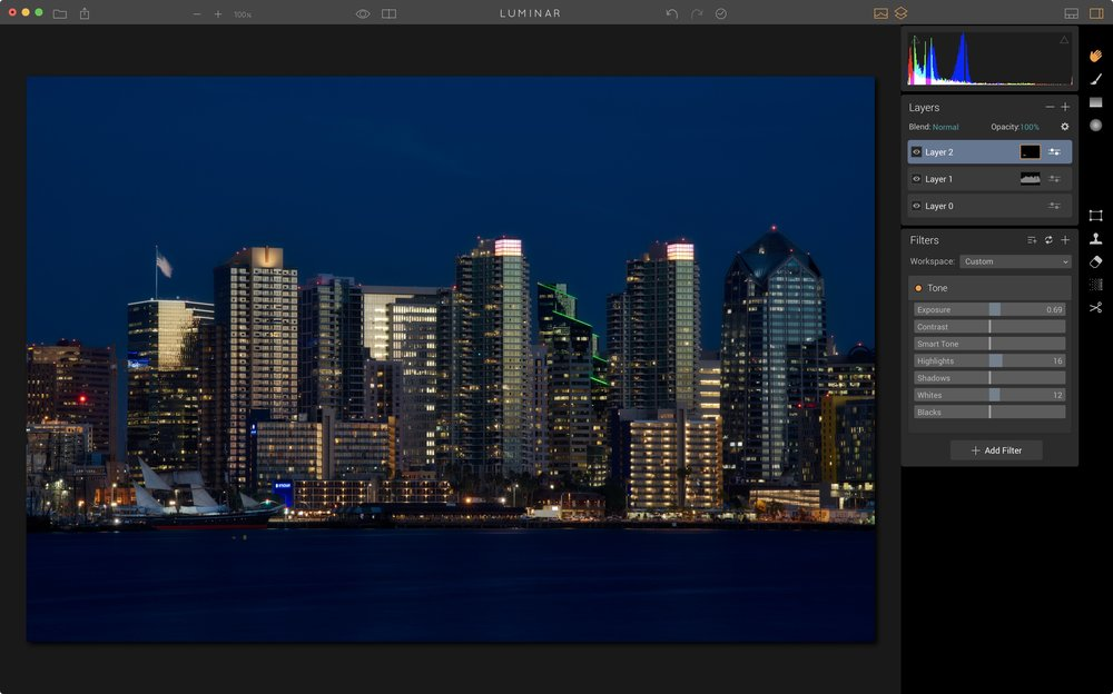 Advanced: Layers, Masks & Histogram