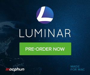 Pre-order Luminar before November 17th to get bonus content.