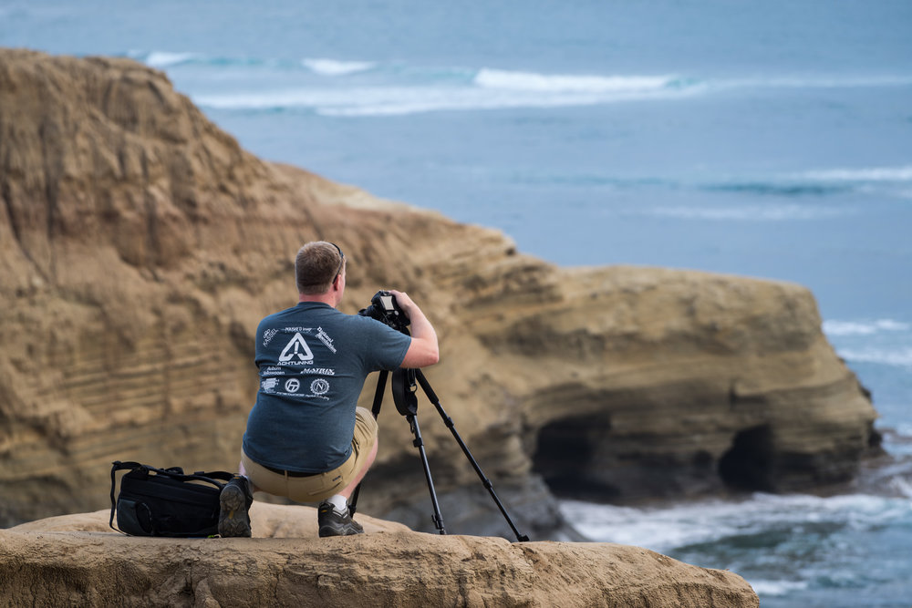 Framing Up Sunset Cliffs