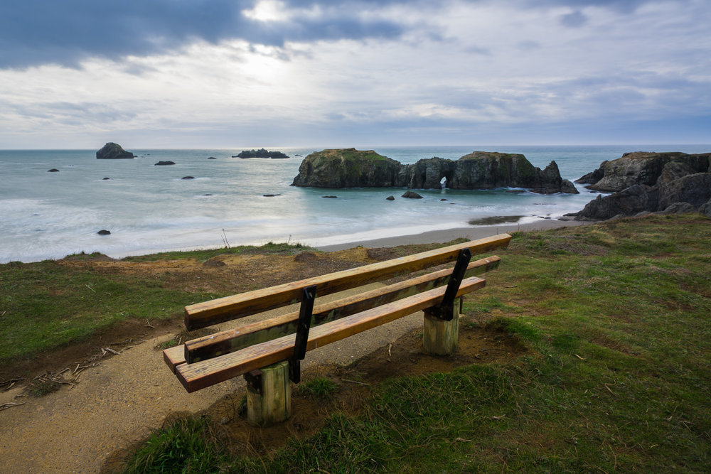 Bench, Coquelle Point