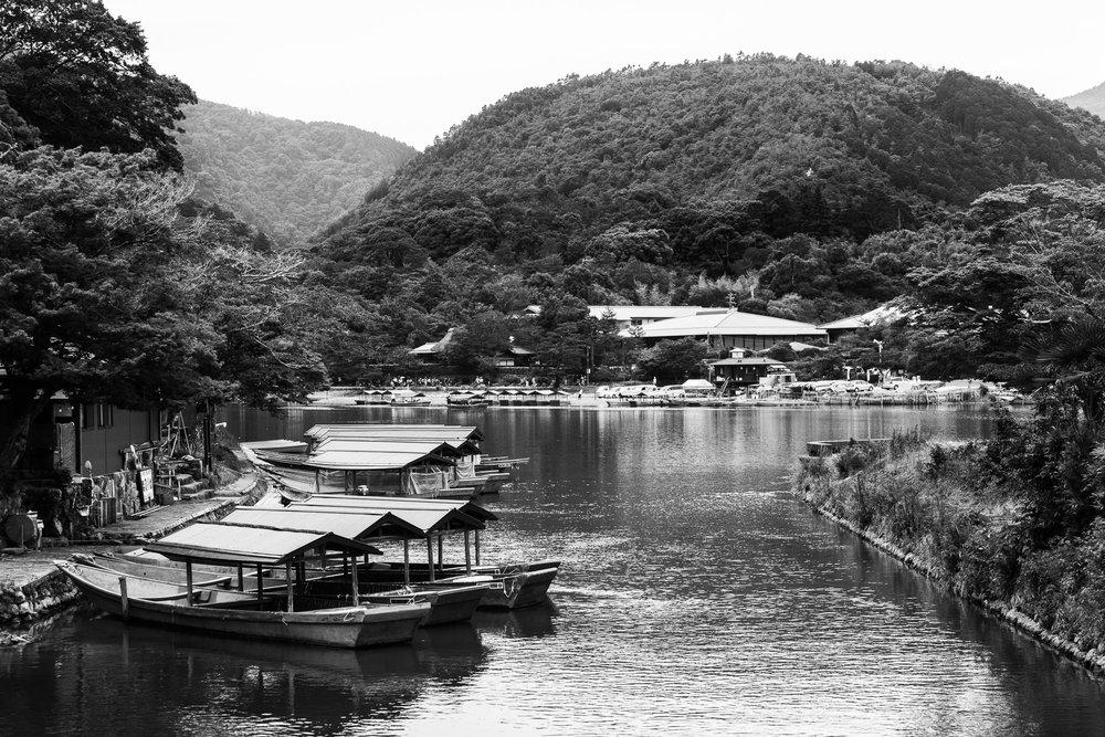 Arashiyama Boats