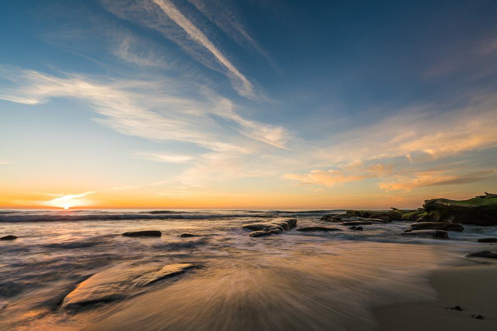A Long Awaited Sunset