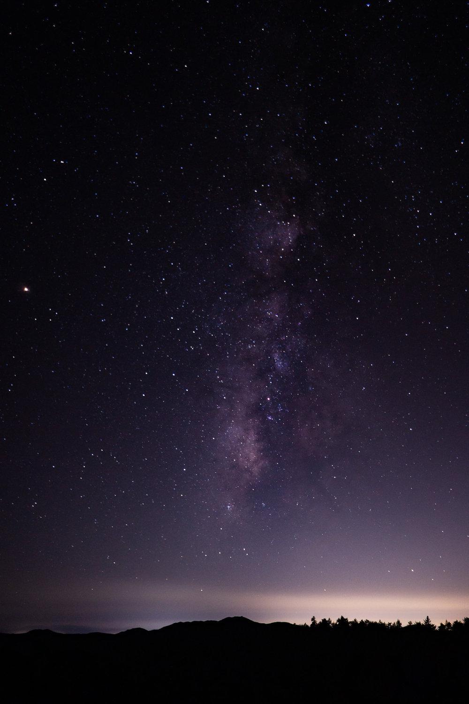 Milky Way From Mount Laguna
