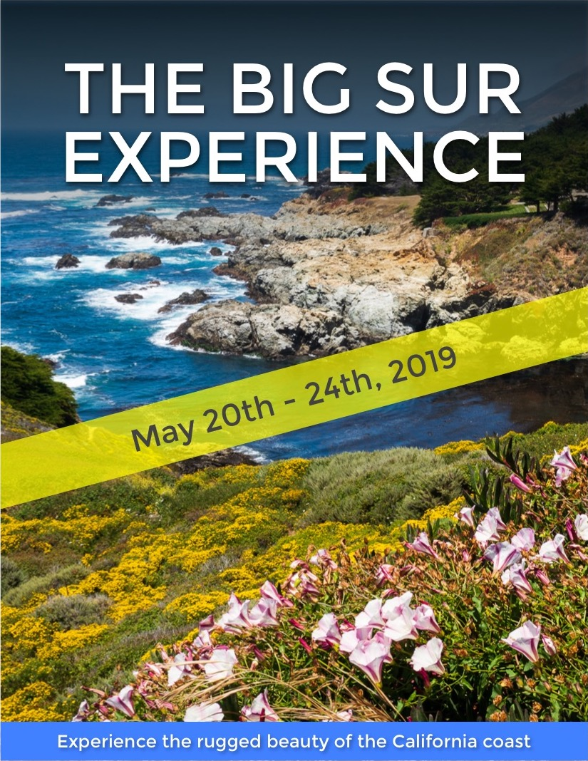 The Big Sur Experience, May 2019