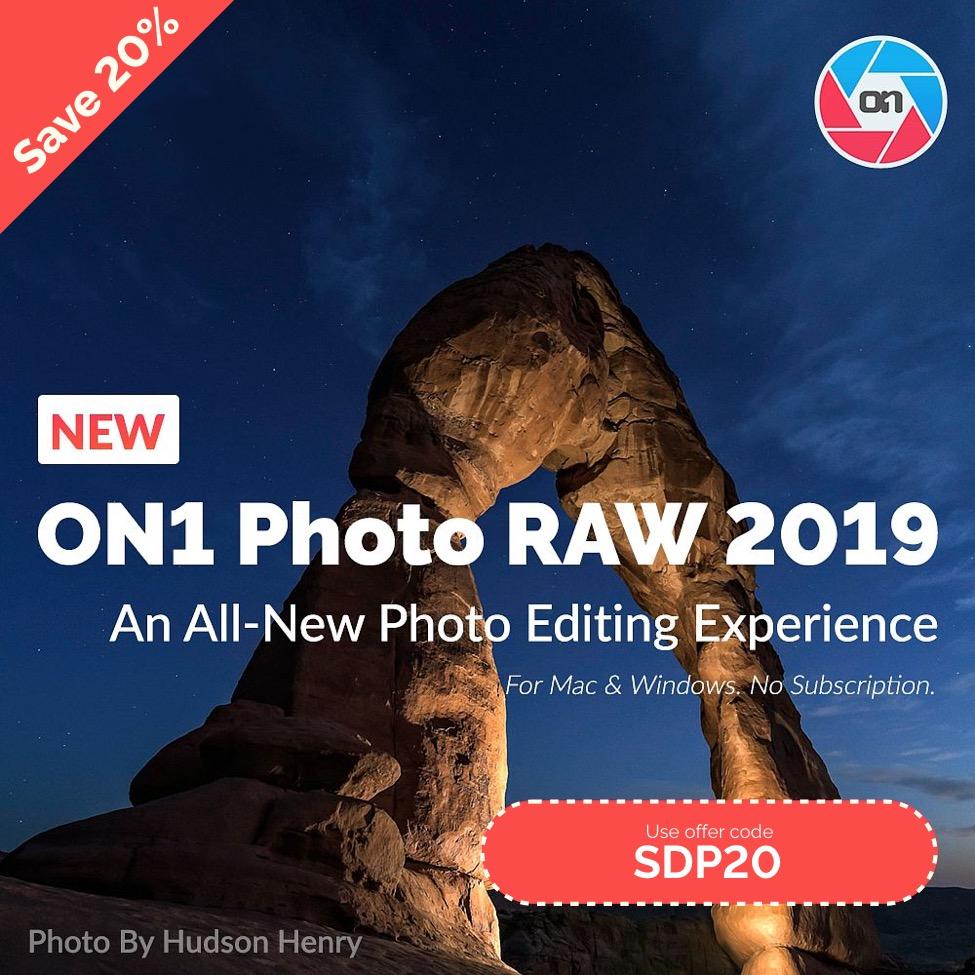 Save 20% on ON1 Photo RAW