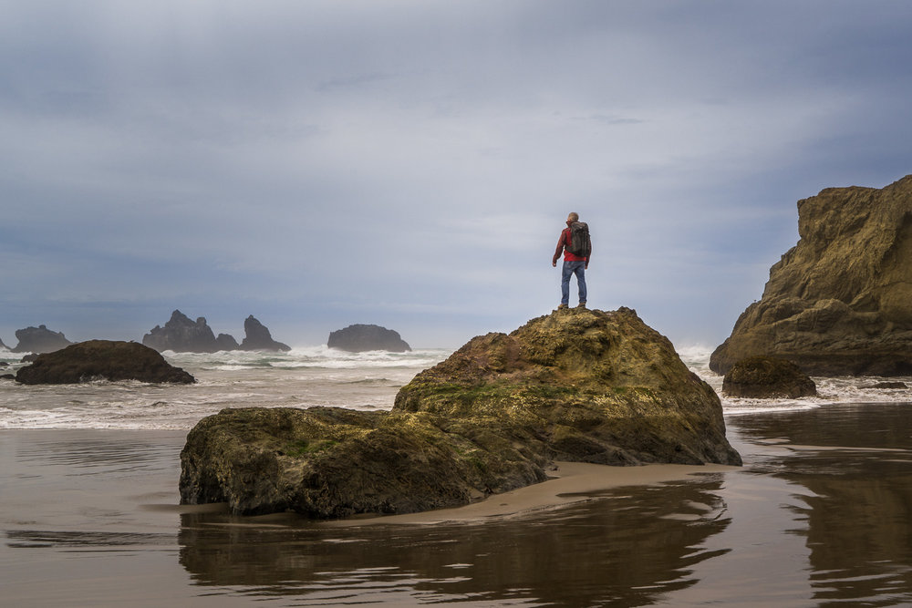Goofing Off In Bandon