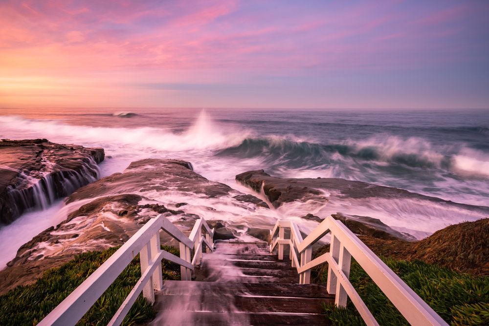 Windansea Beach Stairway