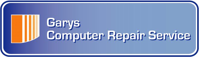 Gary's Computer Repair services first logo for the company
