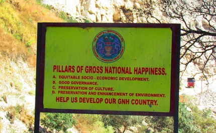 essay about gross national happiness in bhutan
