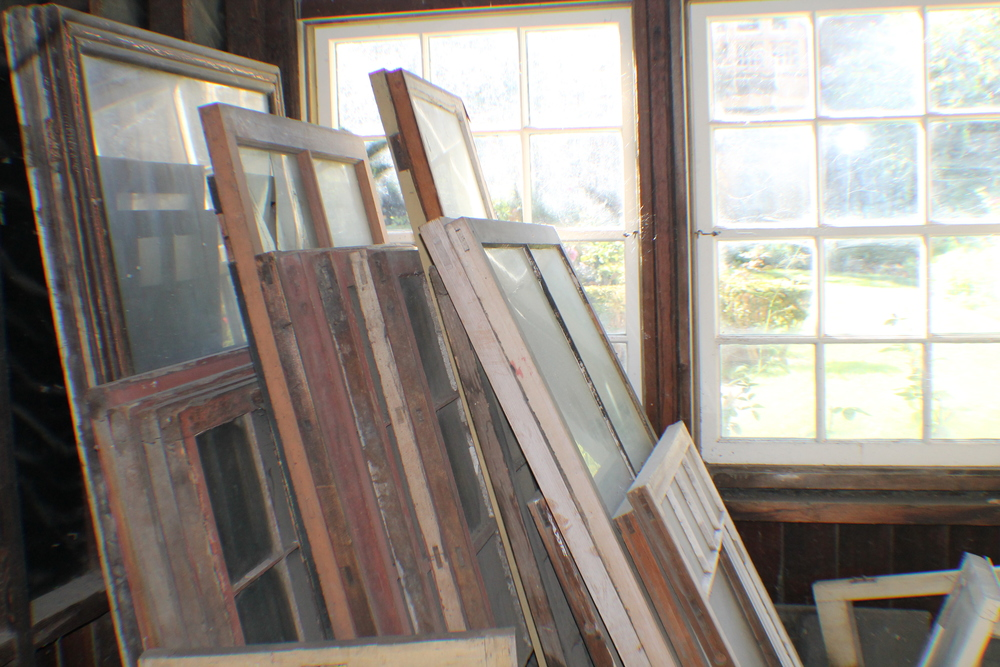 Winchester Mystery House Windows