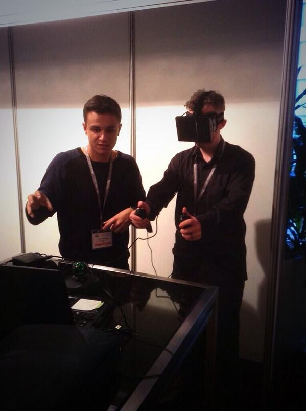 Chris Zaharia ,  Alex Hagan , and Oculus Rift