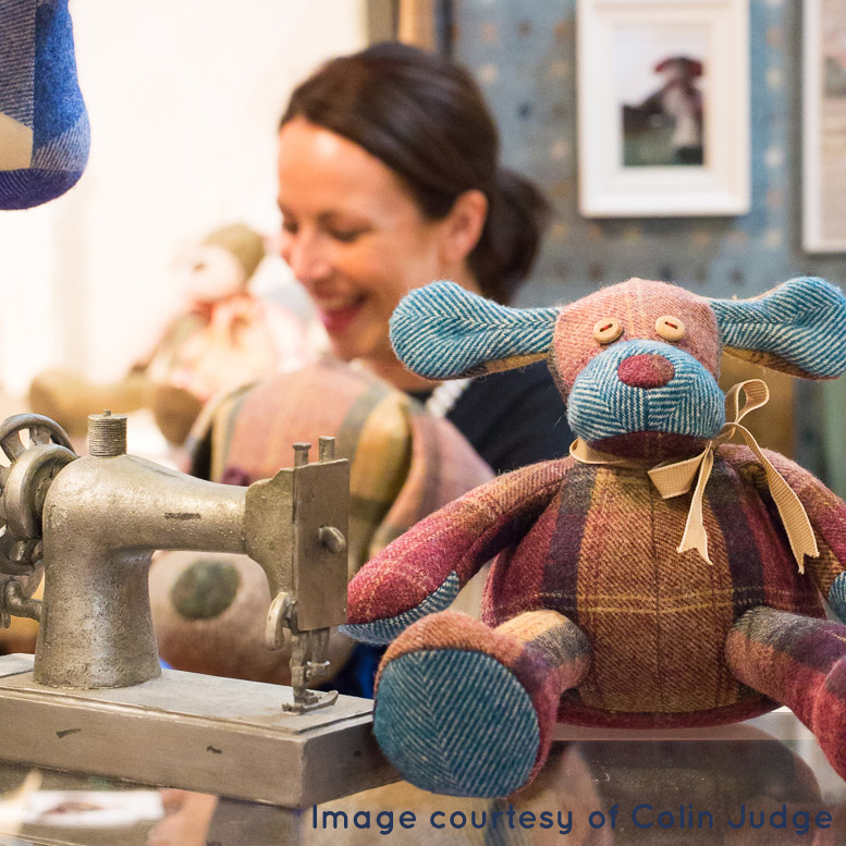 Hamilton Bear at the RDS Craft & Design Show 2015 - thank you Colin Judge for the lovely pic