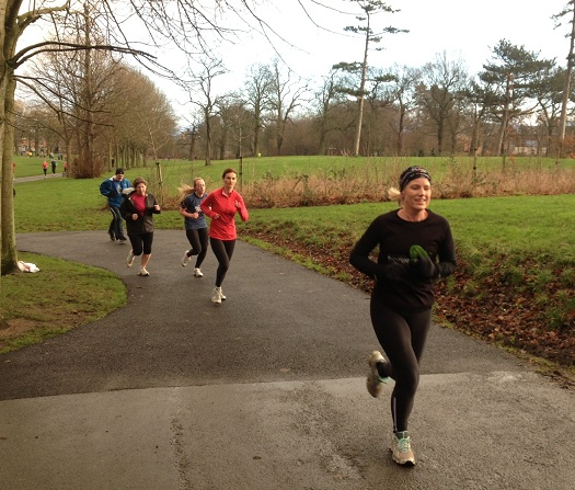 Most parkrun participants are female to start with before wider families & friends get involved