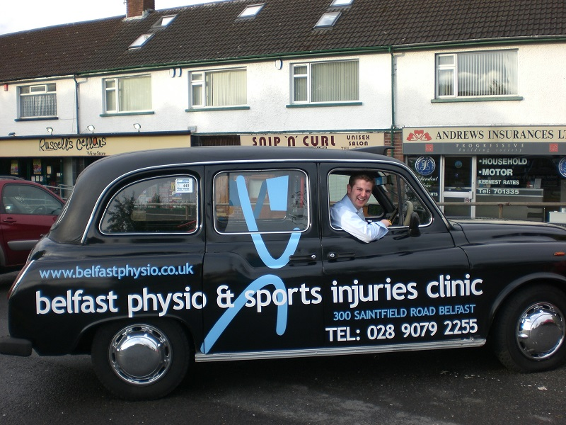 Belfast Physio   Belfast Physio is off the Saintfield Road and led by Noel Rice. They provide sports physiotherapy and complimentary treatments.   A:  300 Saintfield Road, Belfast, BT8 6PE   E:   Belfastphysio@gmail.com    T:  028 9079 2255   W:   www.belfastphysio.co.uk    Twitter:  @Belfastphysio   Additional Information:  Specialists in sports injuries, back pain, posture, and muscle imbalance. Also offer massage therapy and podiatry services. Evening and weekend appointments available.