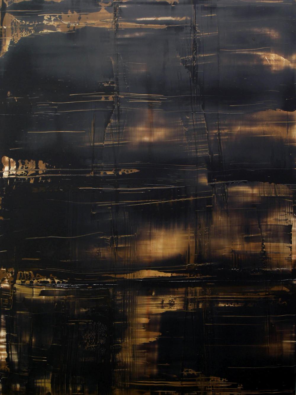 """February 27, 2009"" oil on panel, 48""x 36."""