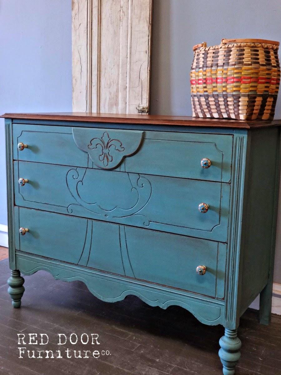 Custom Painted Furniture — Red Door Furniture Co