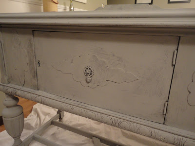 sideboard with Annie Sloan Chalk Paint