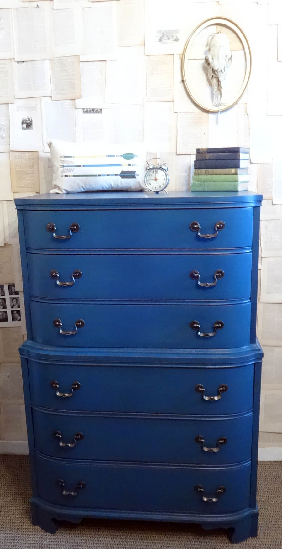 Flow Blue from Miss Mustard Seed's Milk Paint