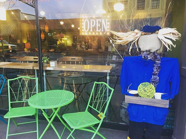 Our scarecrow is out at the Plow! Our non profit we partnered with is Candlelighters- supporting kids with cancer. Through the month of October come downtown and pay 50 cents for a ticket to vote your favorite scarecrow! All funds raised goes to the non profits! #Candlelighters #SupportLocal #nonprofitorganization