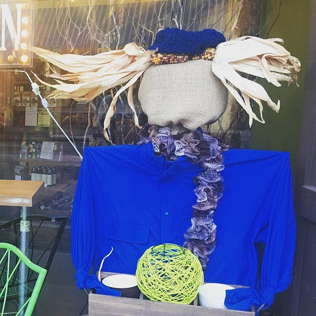 As you may know, this month is the scarecrow fundraiser downtown! Businesses partner with a non profit to raise money for the non profits only. In addition to ticket sales, we are donating 50 cents of every drink purchased to the Candlelighters Organization! Don't forget to check out all the scarecrows our neighbor businesses are displaying! No matter who you vote for, great things happen for local non profits!