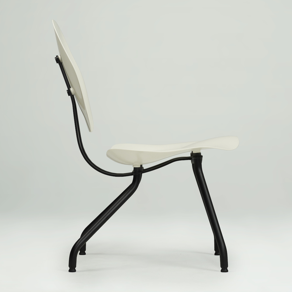 Soft Chair  2014  Materials : steel, ABS, PTE, PA  Dimensions : 86 x 64 x 49 cm | 33 x 25 x 19 inch