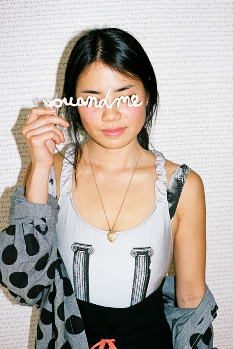 julia chiang in the new stussy campaign! … by peter sutherland