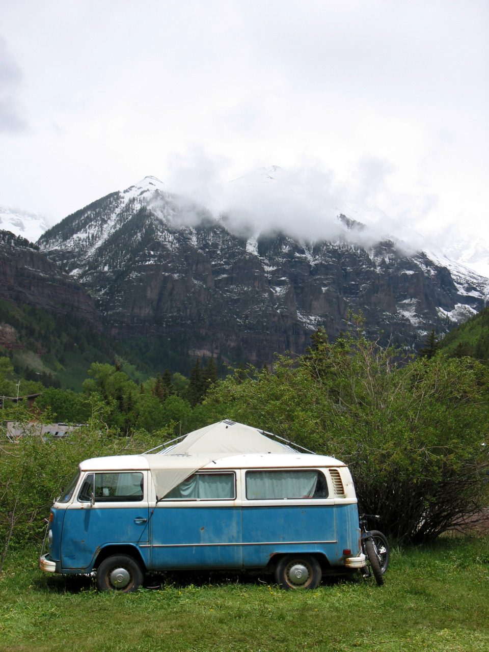 in a van down by the river  »>  telluride bluegrass music festival, colorado