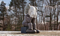 kaws giant companion at the aldridge.. click it for details!