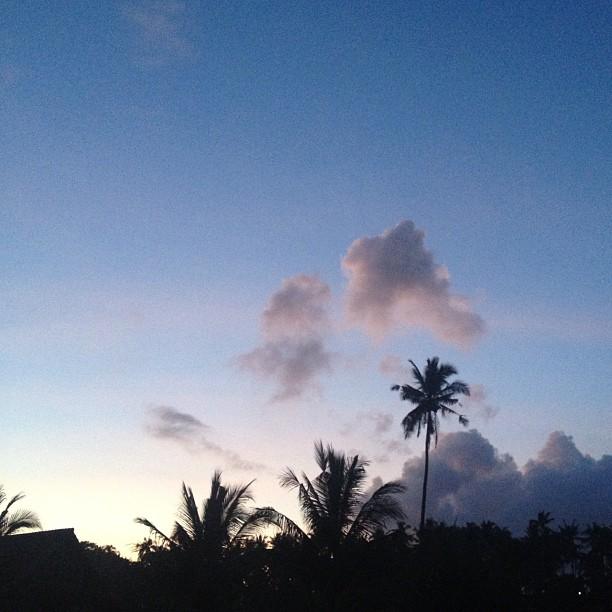 Good morning balian (Taken with  instagram )