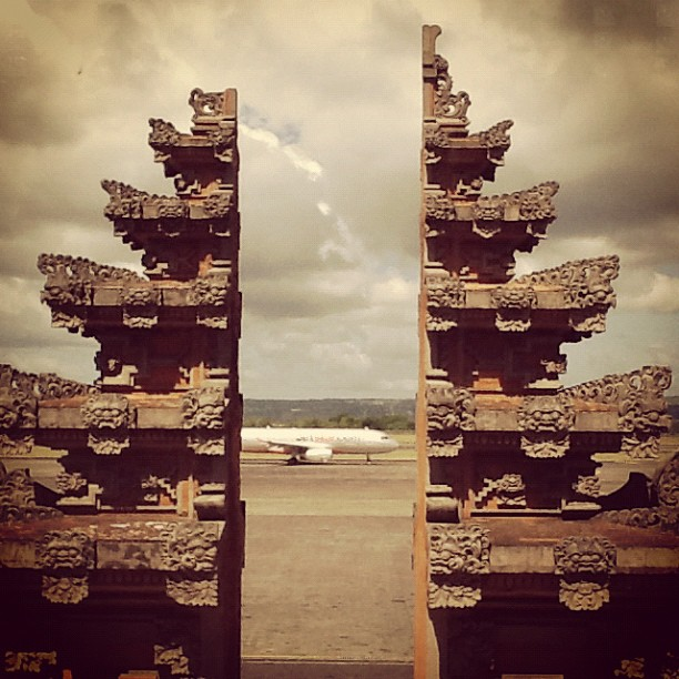 Bye bye Bali  (Taken with  instagram )
