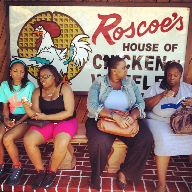 Taken with Instagram at Roscoe's