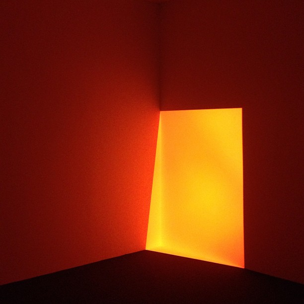 James Turrell (Taken with Instagram at Crystal bridges, Arkansas)