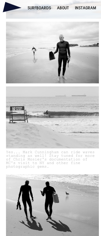 Some of my Mark Cunningham pix featured on www.pilgrimsurfsupply.com 's new website…