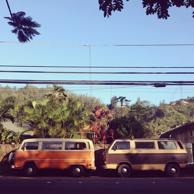 #vanlove #mytinyatlas (at North Shore, Oahu)
