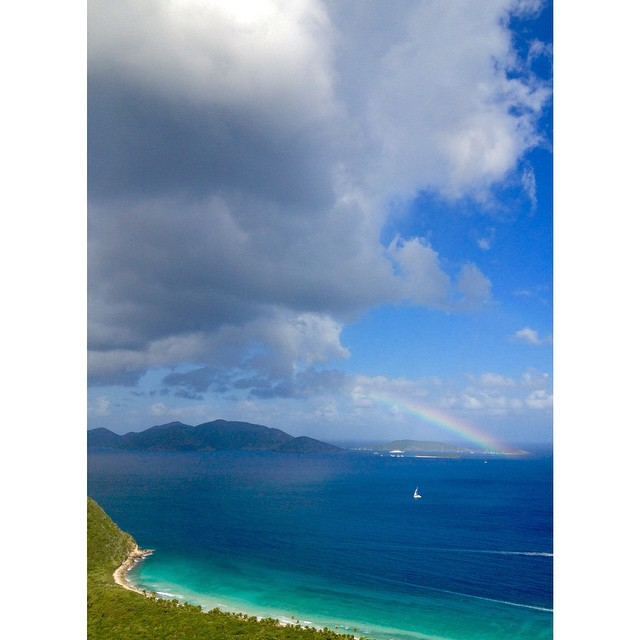 Hope your 2015 is filled with rainbows, unicorns, and PMA (at Carib)