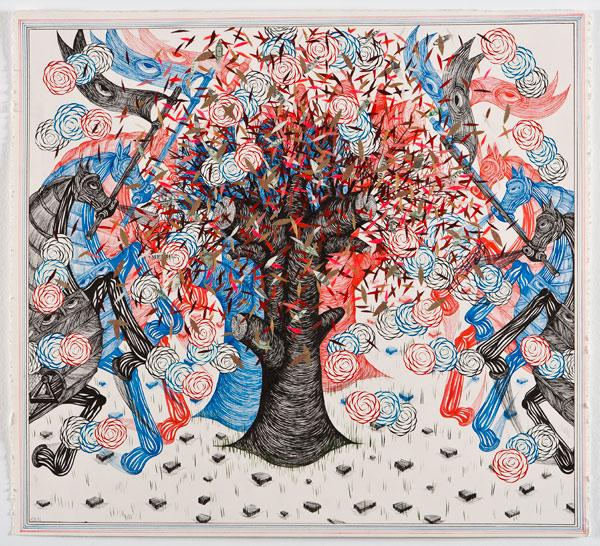 sfmoma :     More work by Andrew Schoultz via  Juxtapoz Magazine