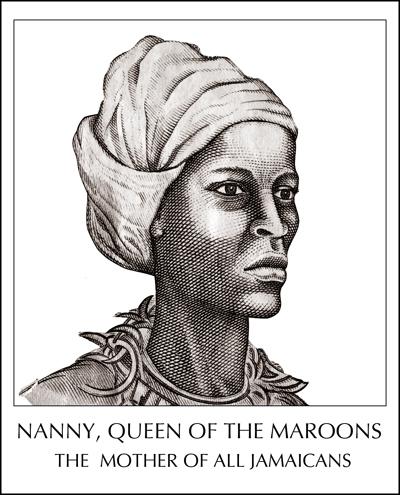 Queen Mother Nanny, Jamaica