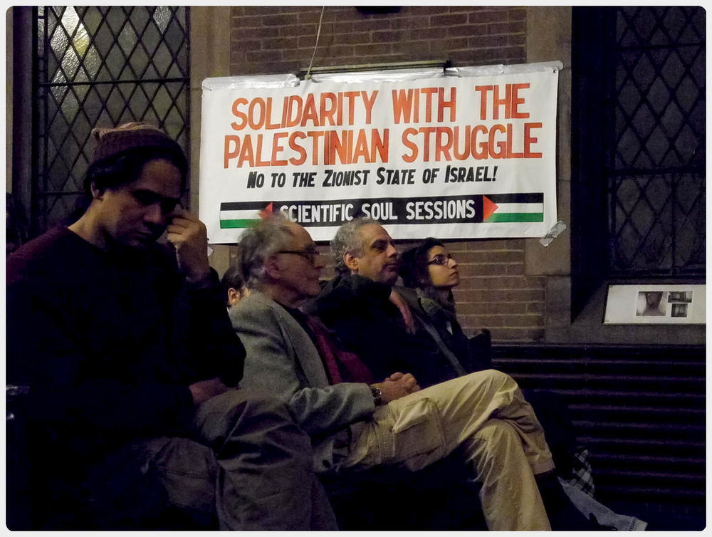 Solidarity with the Palestinian struggle. NO to the Zionist State of Israel! #GazaLibre #FreePalestine