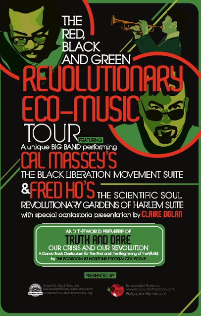 The Red, Black & Green Revolutionary Eco-Music Tour Blog is up!