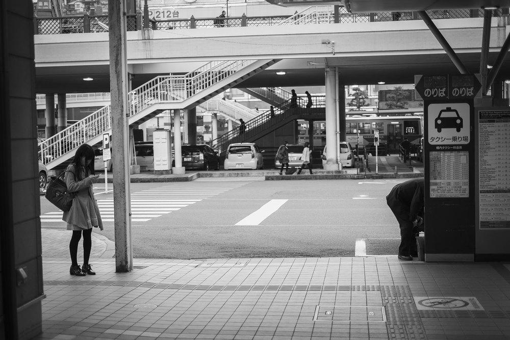 Scene urbane a Nagasaki