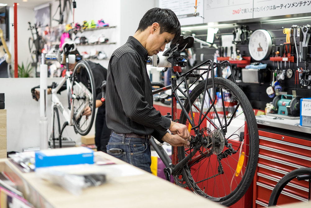 Le nostre Specialized Tricross sotto ai ferri.