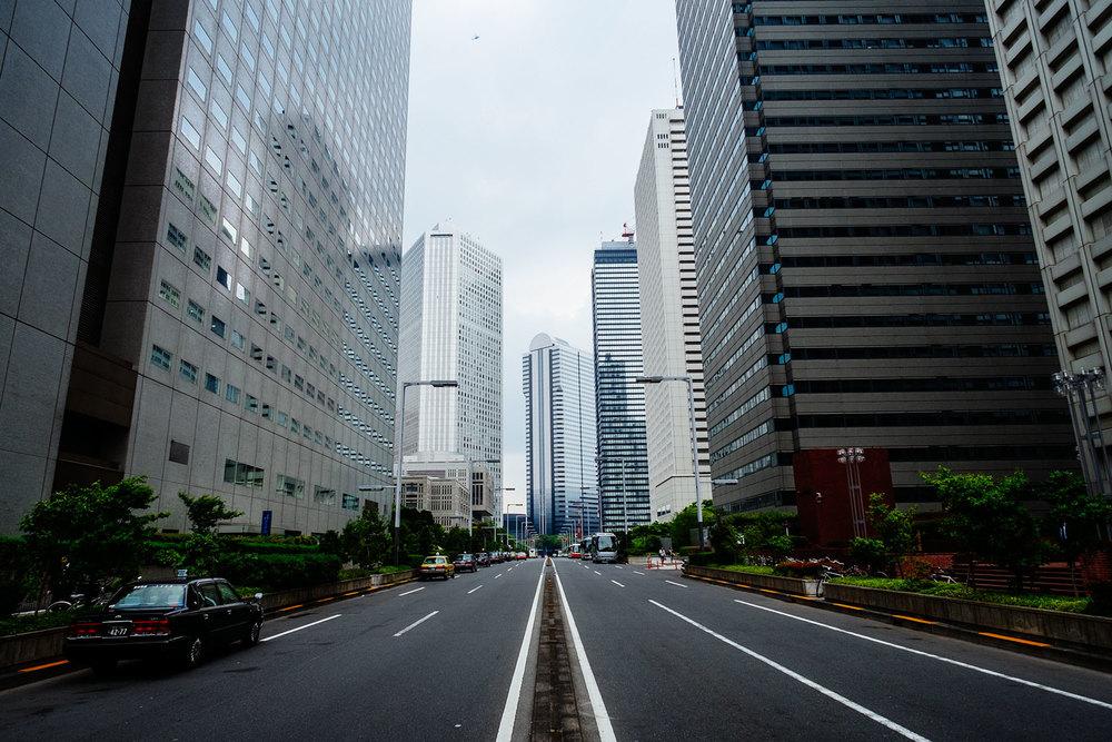 Shinjuku e i suoi megagrattacieli