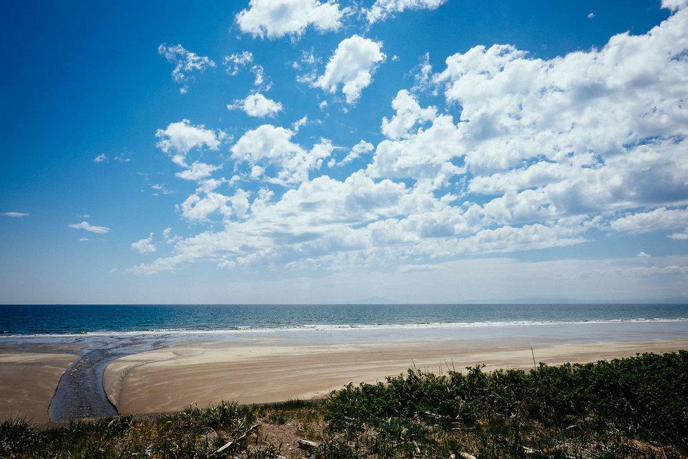 The coast.