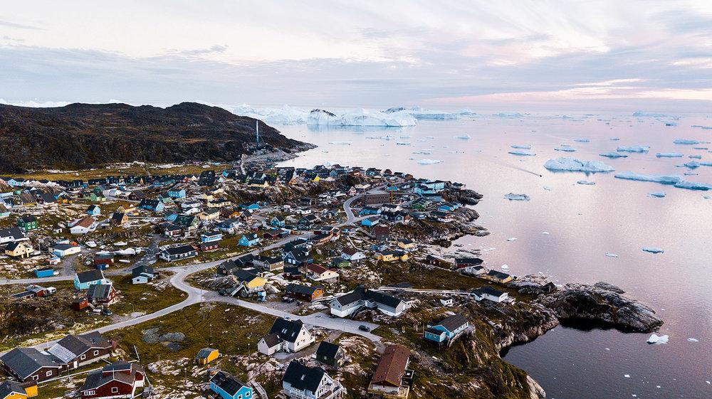 ciao, sono la Groenlandia
