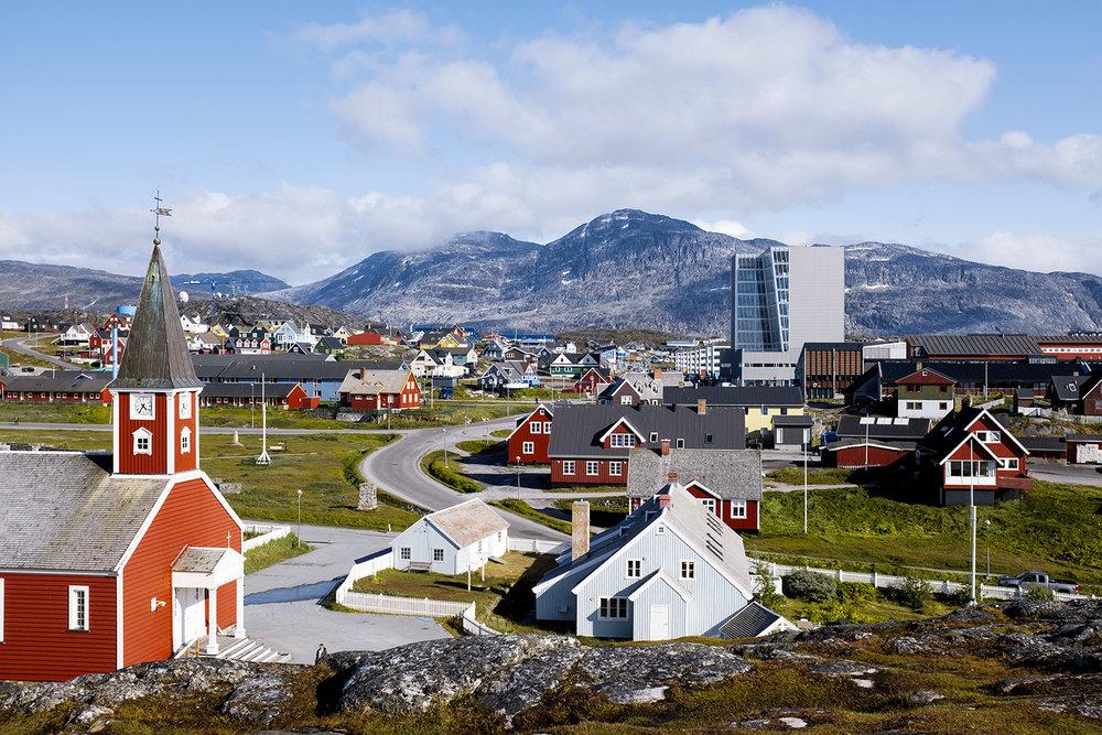 ciao, sono la parte gradevole di Nuuk