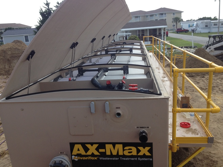 AX-Max installed in Cedar Point, NC