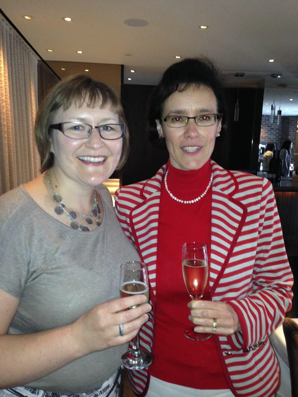 Cheryl Barnabe and Deborah Marshall
