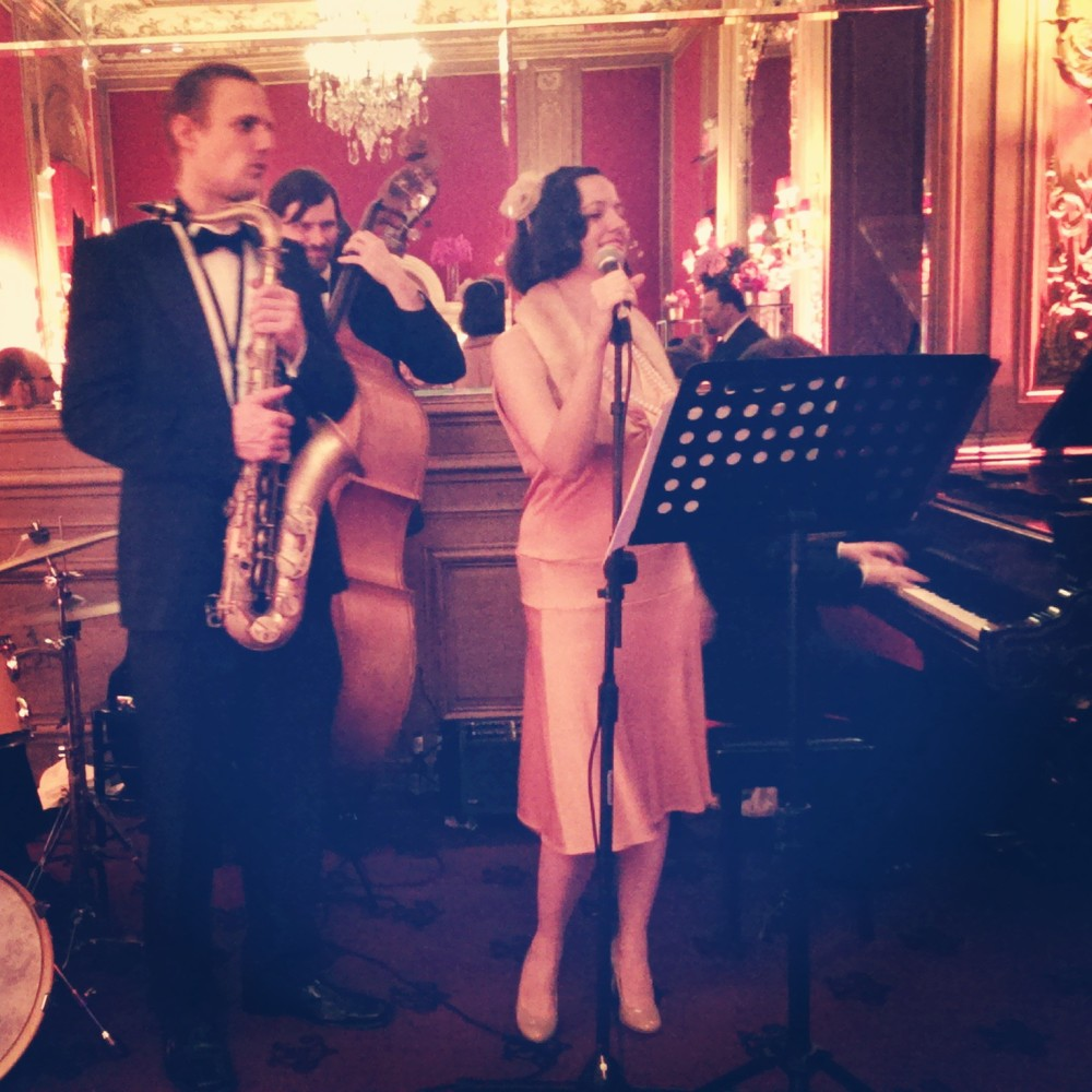 Nightingale Jazz Band at the Metropolitan Club