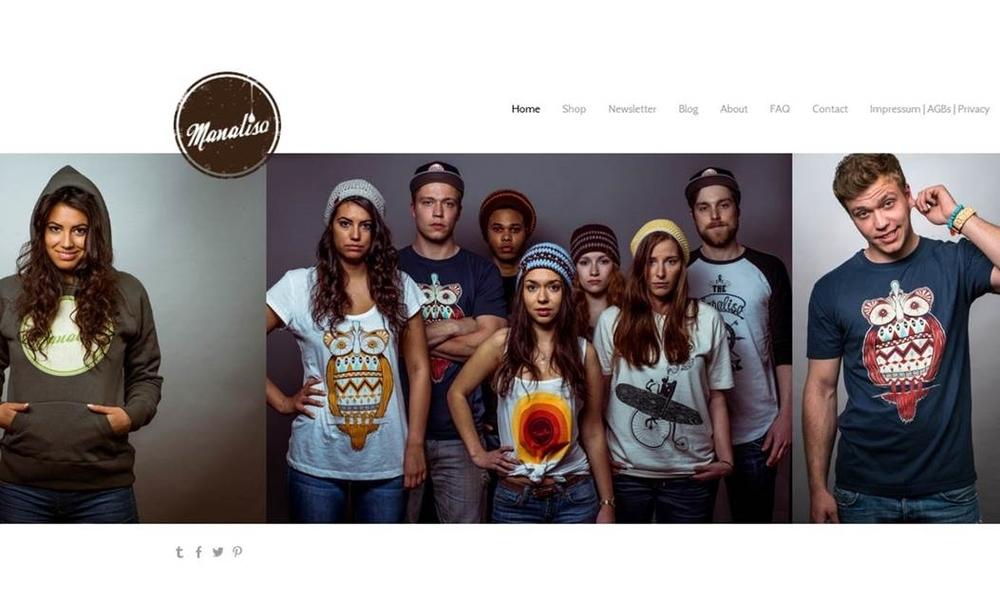 Homepage-Erstellung für Manaliso