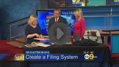 CBS Los Angeles: De-Clutter for the New Year